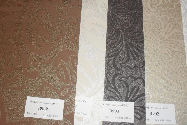 Wzory tkanin do rolet