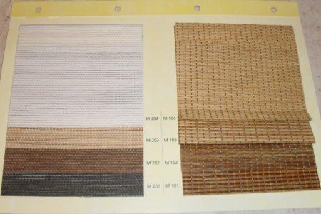 Tkaniny do rolet – bambusowe