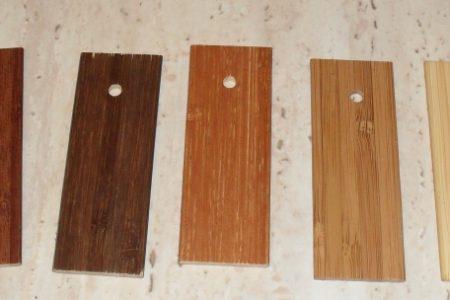 Wzornik żaluzji bambusowych